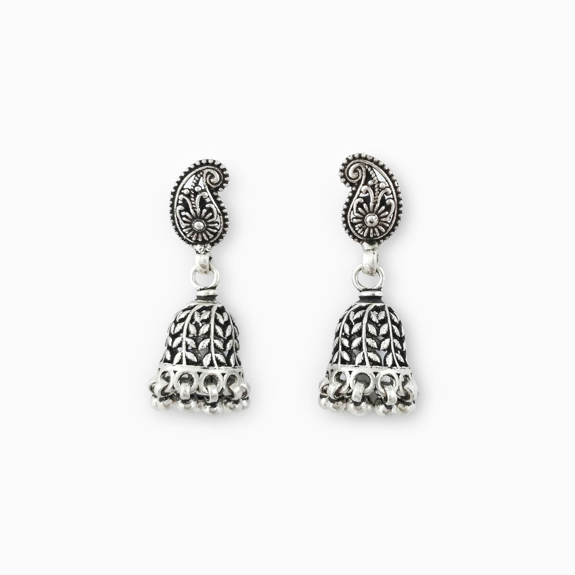 Intricate Flower Earrings
