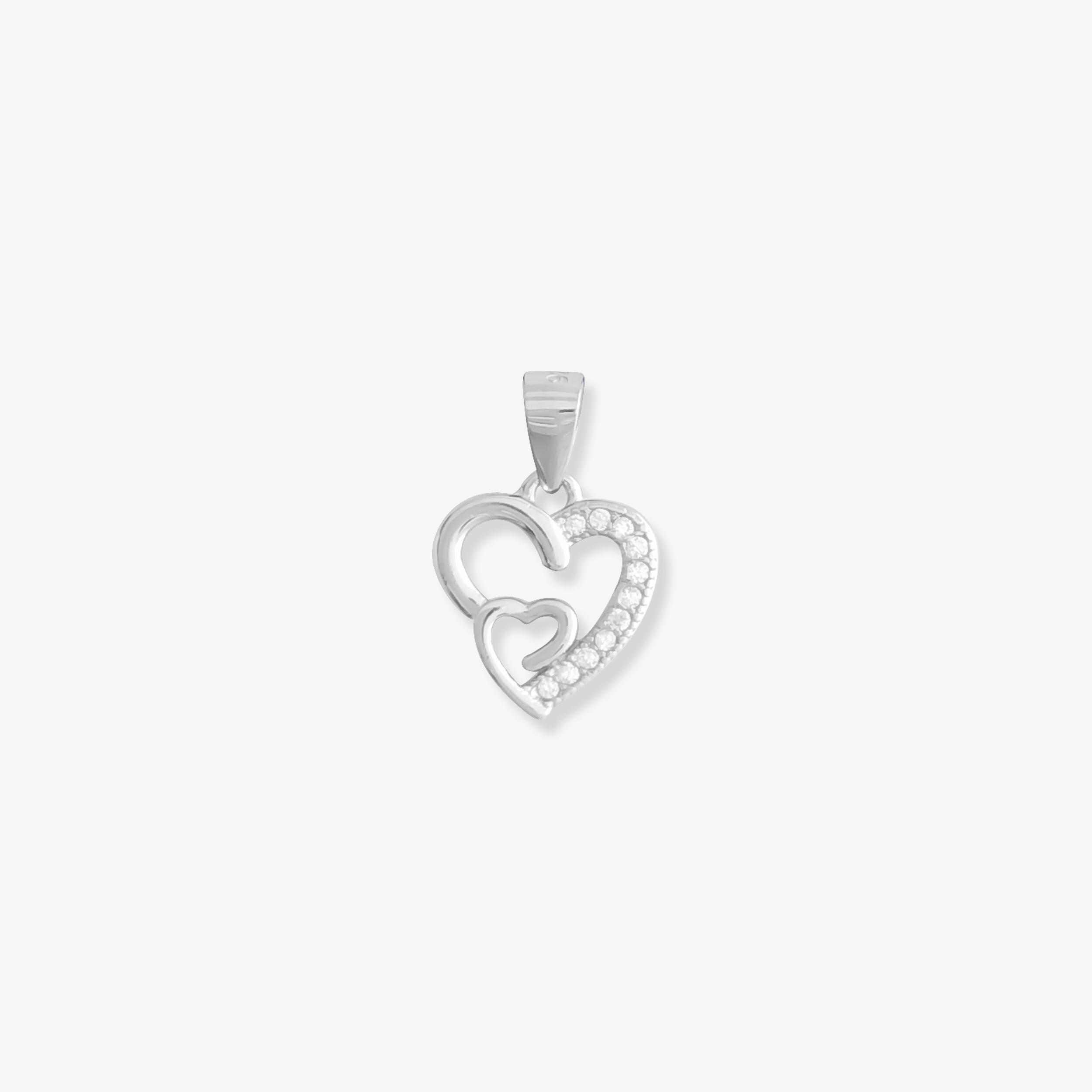 Heart Silver Pendants