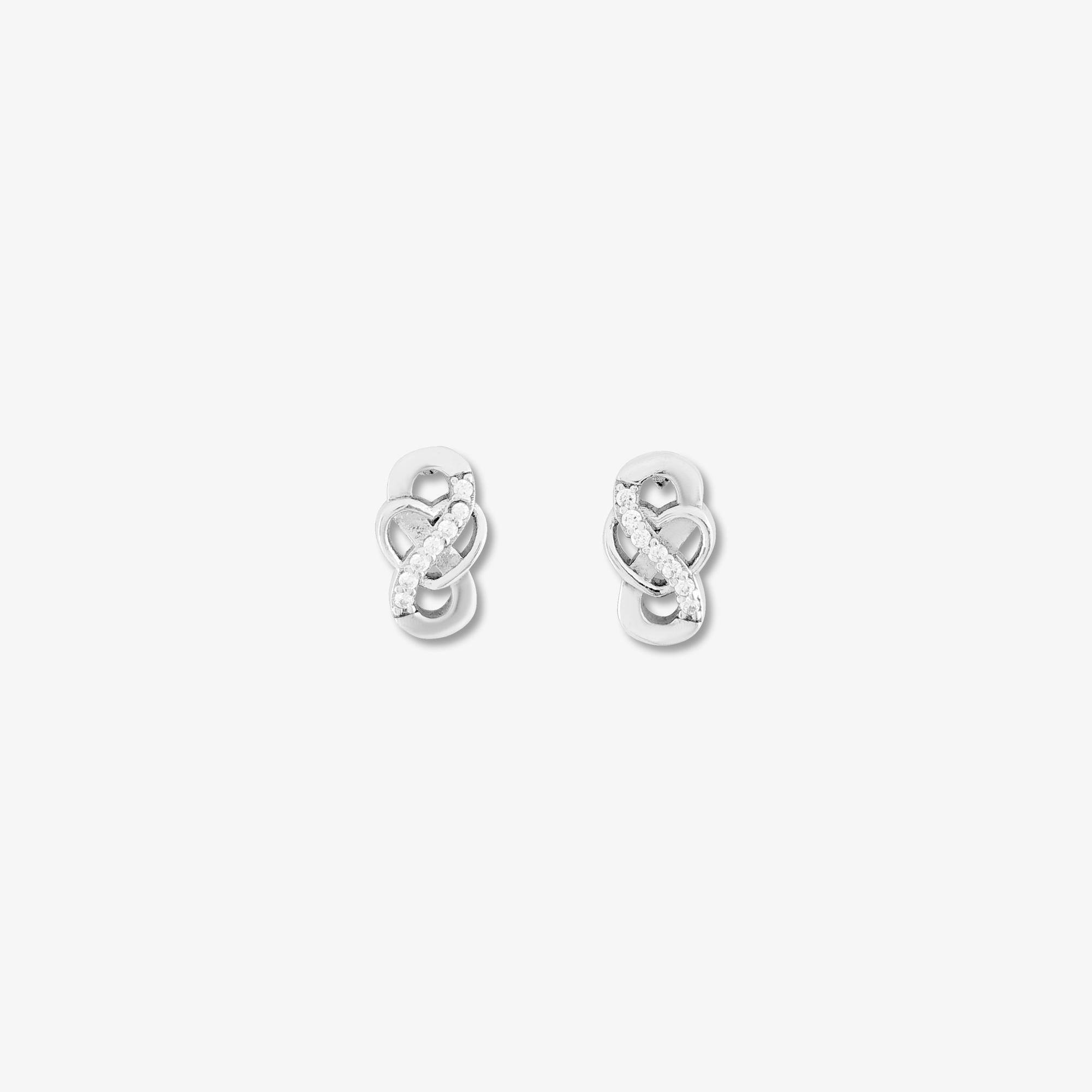 Tiny Sterling Silver Stud Earrings