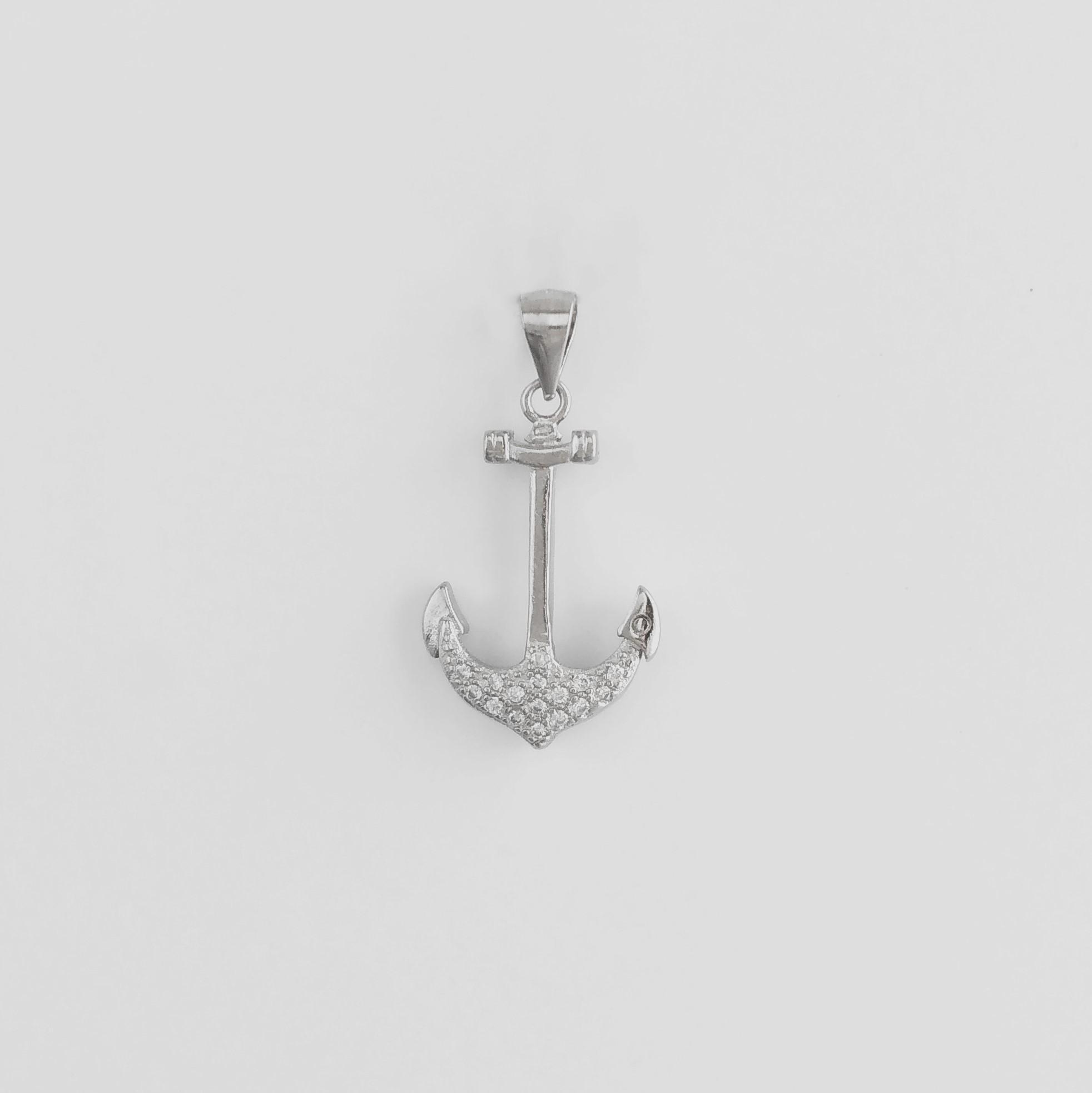 Anchor Silver Pendant
