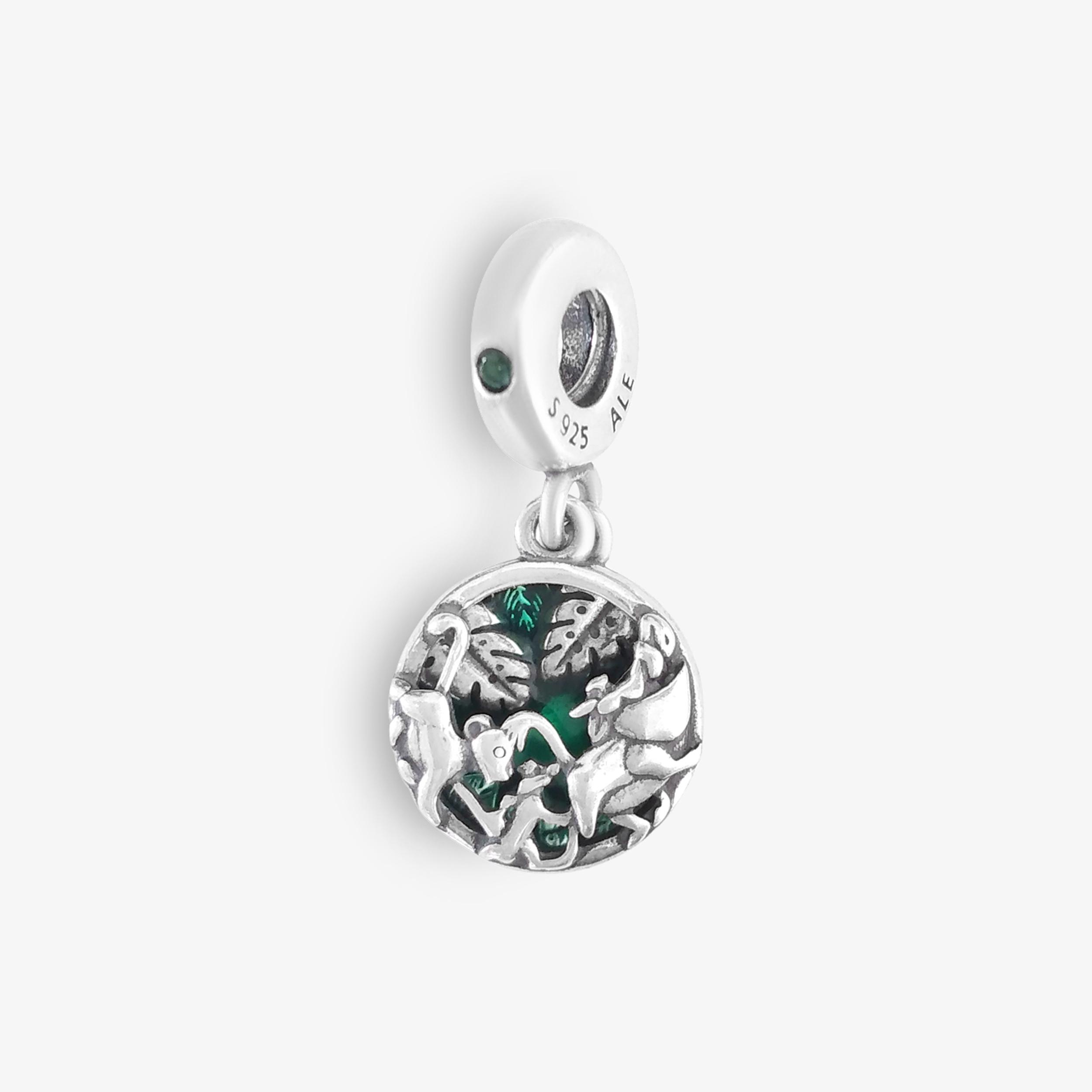 Jungle Tribe Silver Pendant