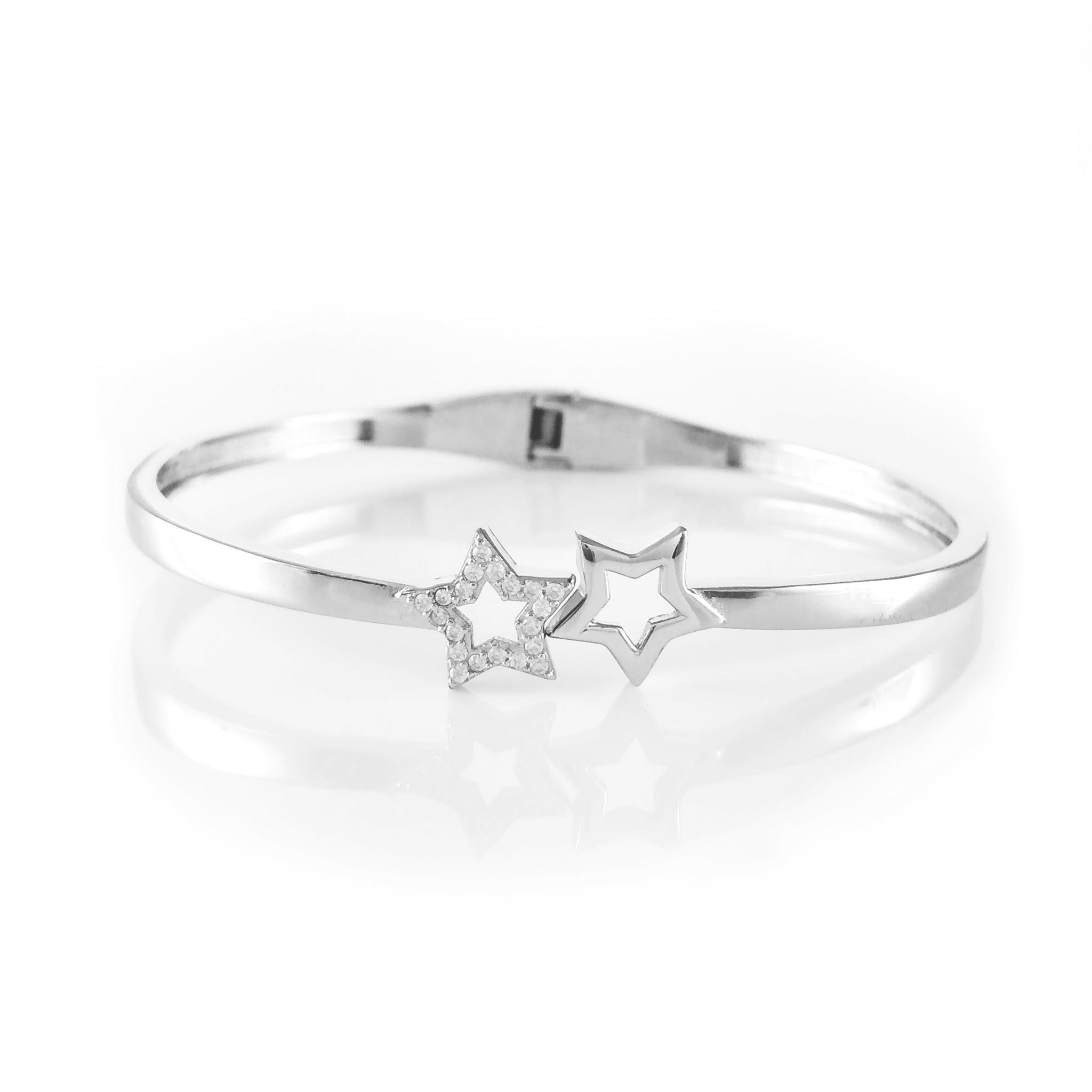 Shooting Stars Silver Bracelet
