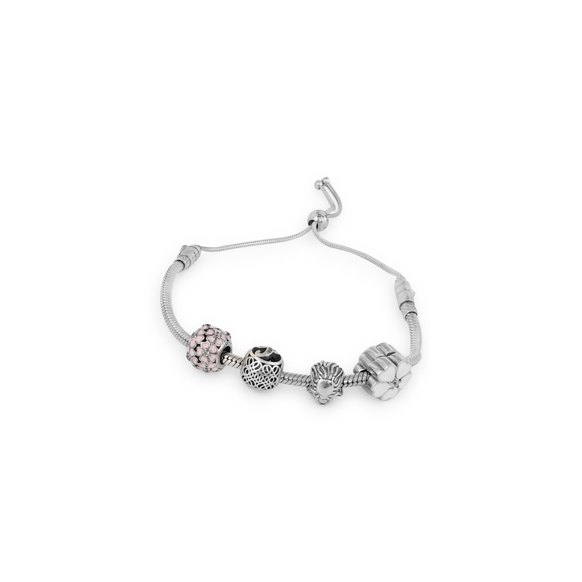 Floral Charm Bracelet in india