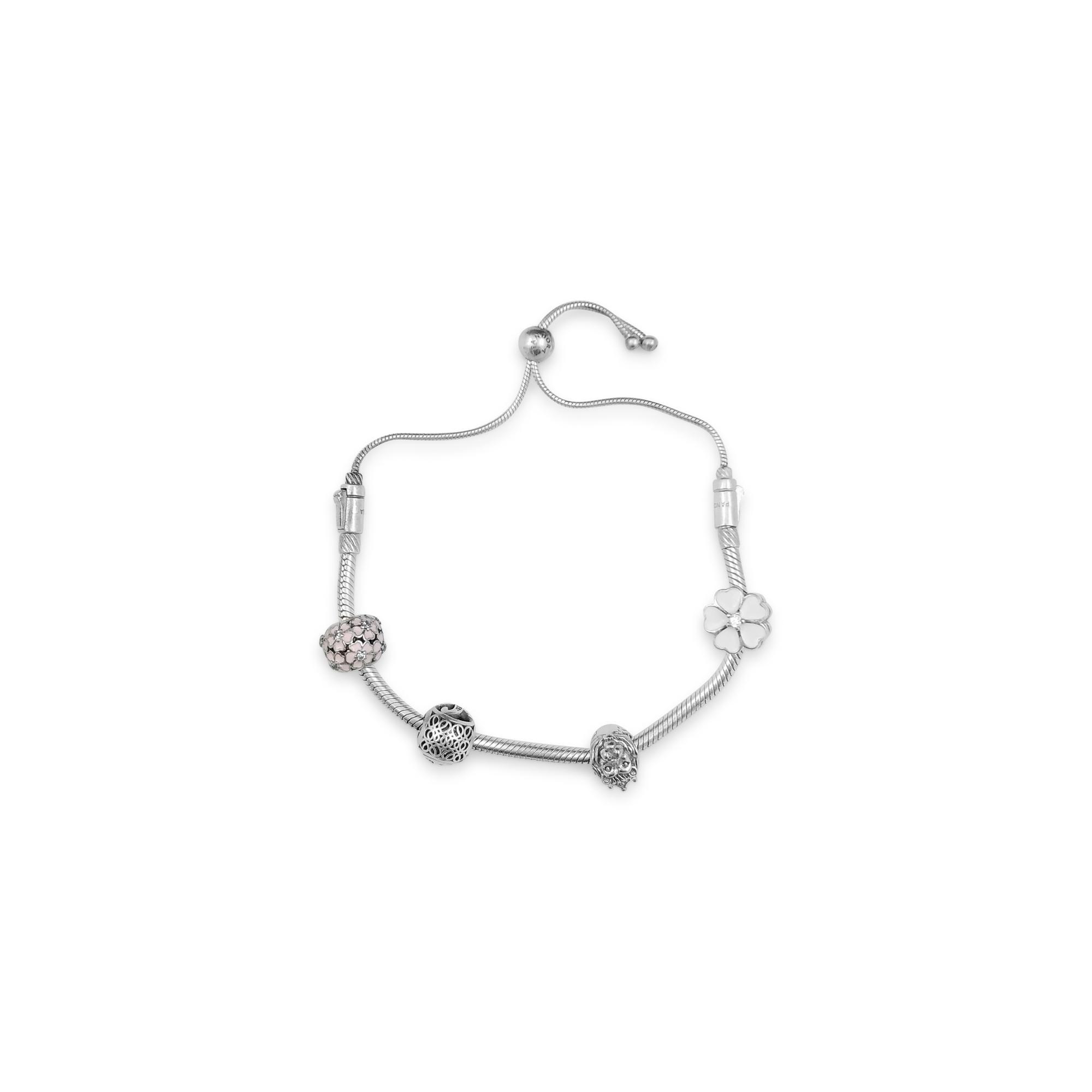 Floral Charm Bracelet Online